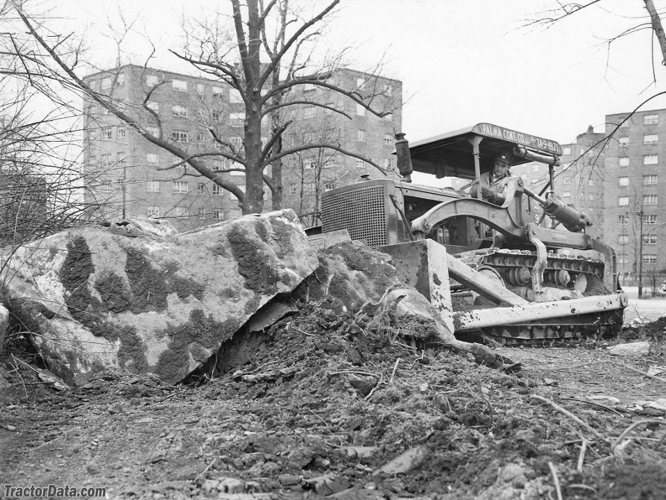 Palma Contracting International TD-14A building the Bronx Expressway in 1952