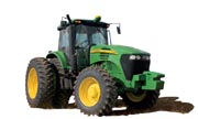 John Deere 7715 tractor photo