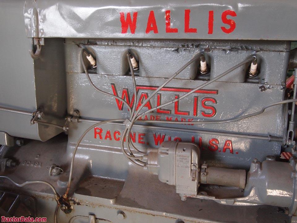 Detail of Wallis 20-30 engine.