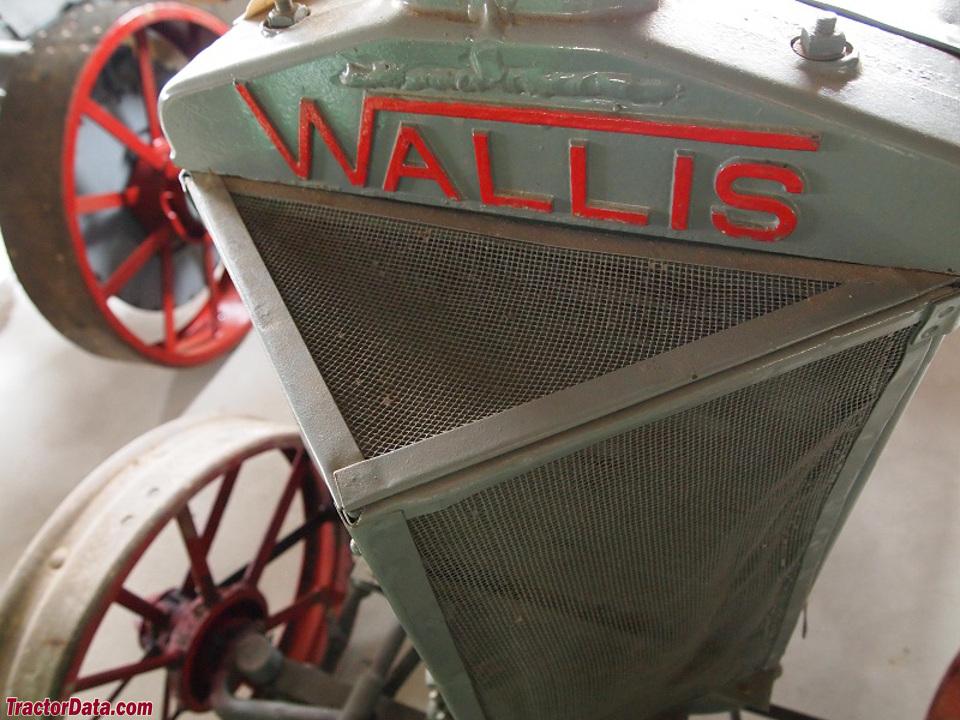Detail of Wallis 20-30 radiator.