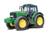 John Deere 6520 Premium tractor photo