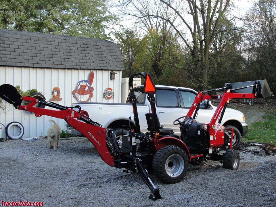 Tractordata Com Mahindra Max 25 Tractor Photos Information