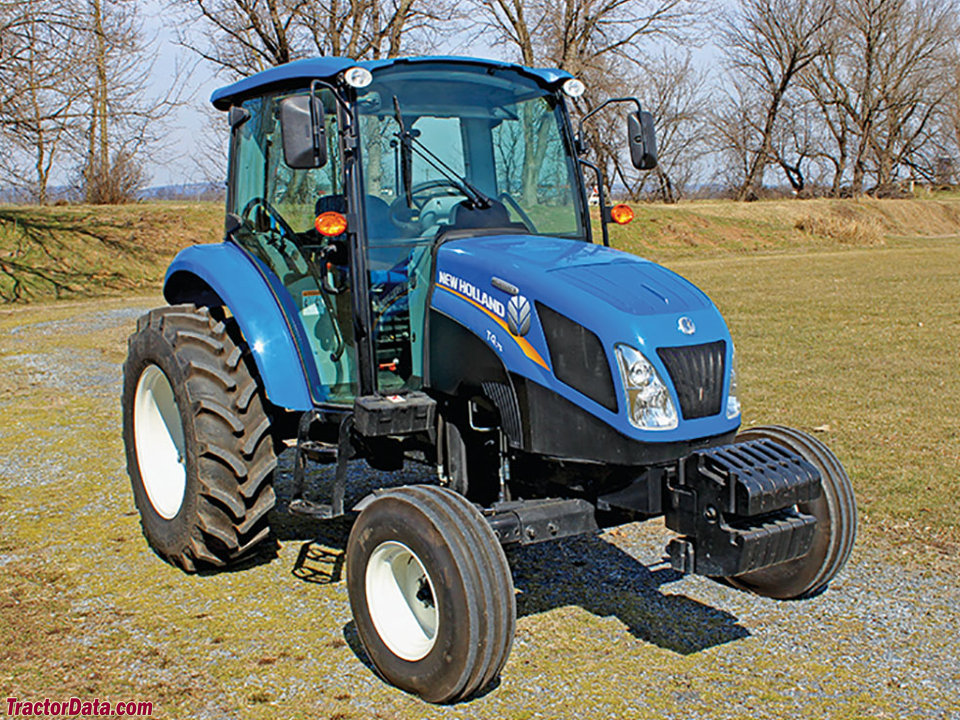 Tractordata Com New Holland T4 75 Tractor Photos Information