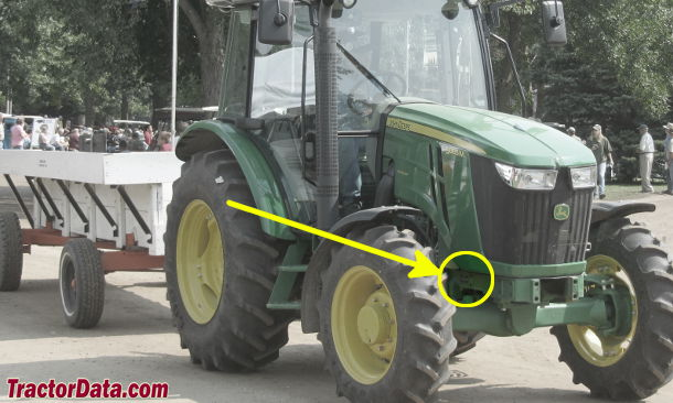 jd 2040 serial number location