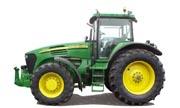 John Deere 7820 tractor photo