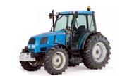 Landini Globus 80 tractor photo