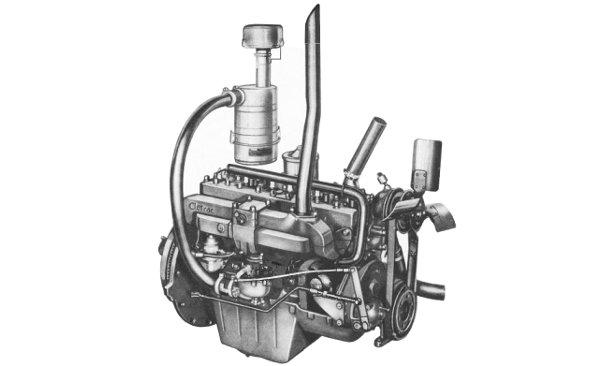 Cletrac AG-6  engine photo