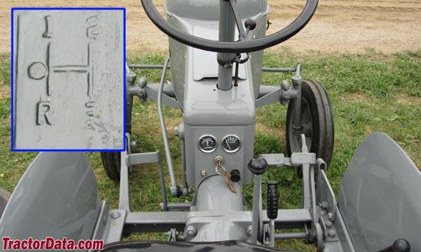 Ferguson Pony  transmission photo