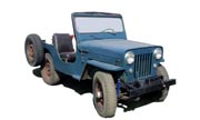 Jeep CJ-3B tractor photo