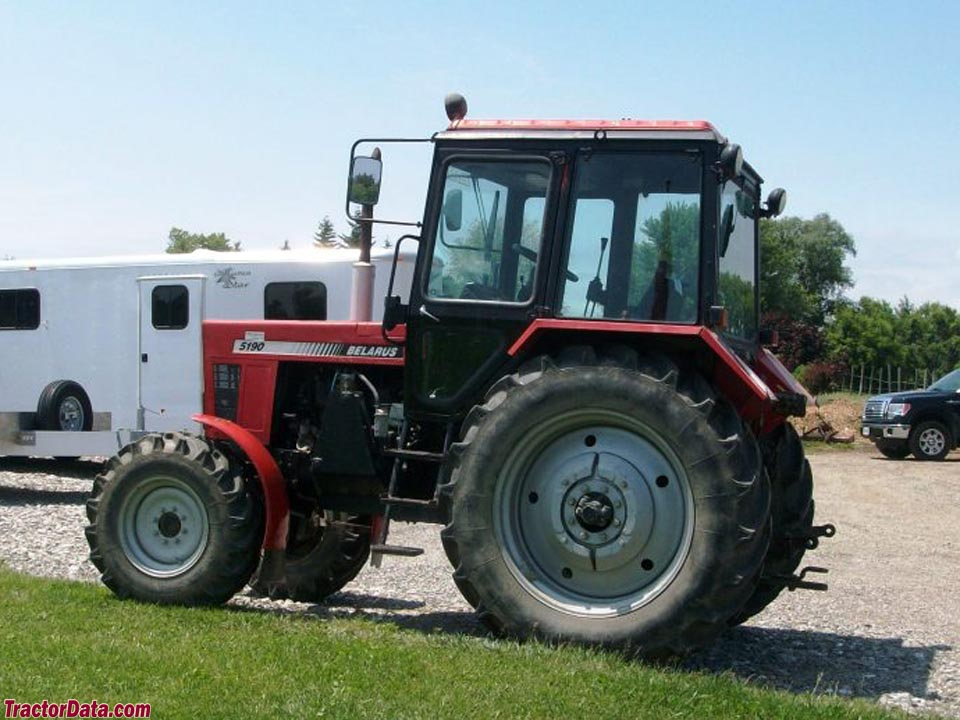 TractorData com Belarus 5190 tractor photos information