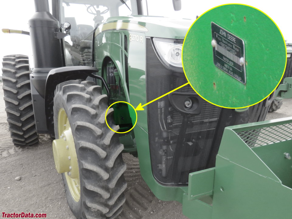 TractorData com John Deere 8370R tractor information