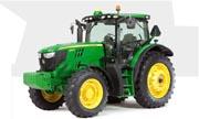 John Deere 6140R tractor photo