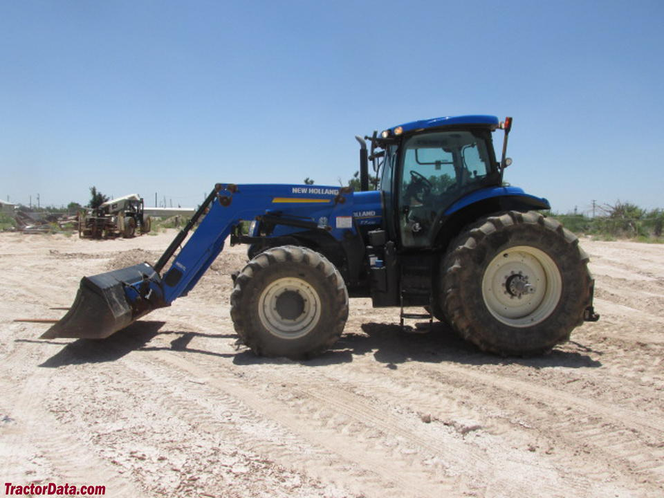 New HOlland T7.235 with front-end loader.