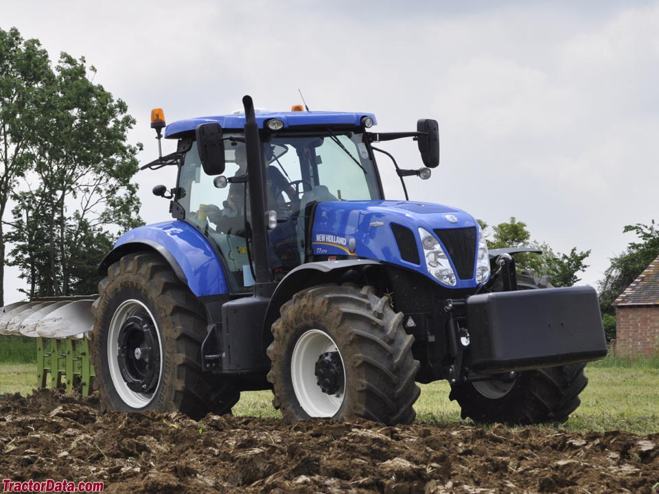 TractorData com New Holland T7 270 tractor photos information