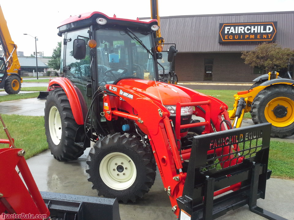 Branson 5220C with BL25R front-end loader.