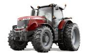 Massey Ferguson 8650 tractor photo