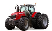 Massey Ferguson 8737 tractor photo