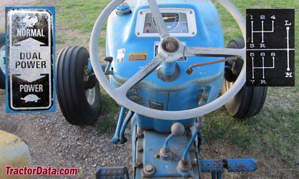 tractordata com ford 5000 tractor transmission information
