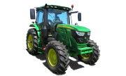 John Deere 6110R tractor photo