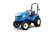 LS J23 tractor photo