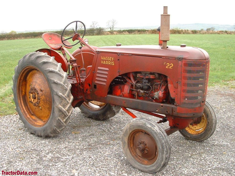 1950 Massey Harris 22GS.