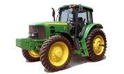 John Deere 7525 tractor photo