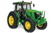 John Deere 6135E tractor photo