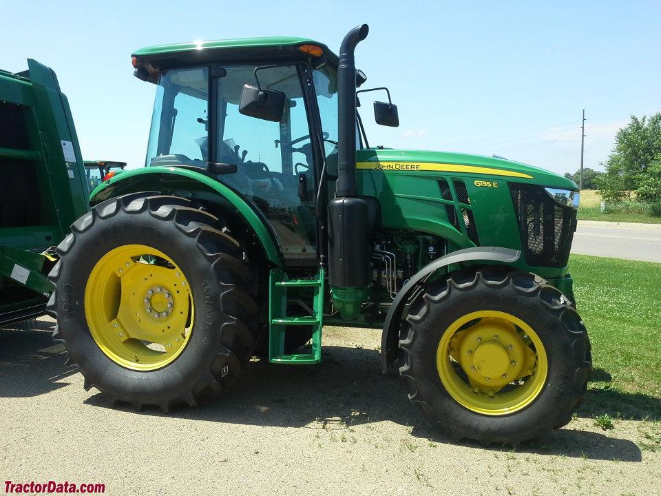 John Deere Tractor Shows : Tractordata john deere e tractor photos information