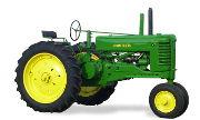 John Deere A tractor photo