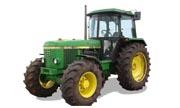 John Deere 3140 tractor photo