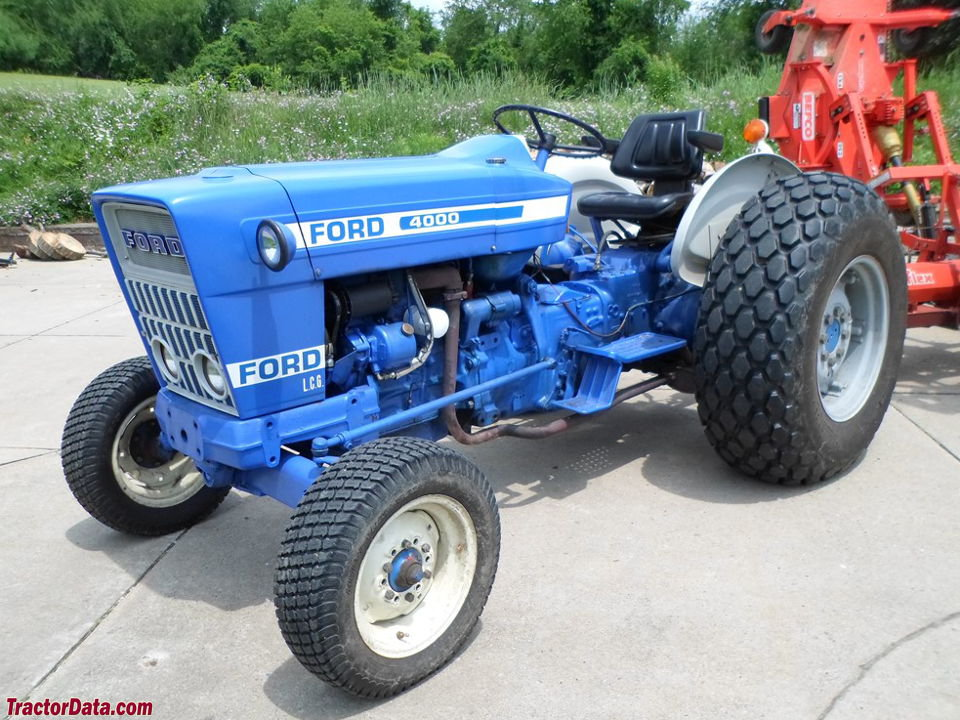 Ford 4000 Tractor Parts : Ford tractor engine free image for user