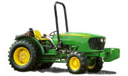 John Deere 5076EF tractor photo