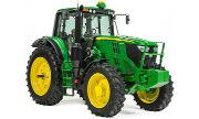John Deere 6195M tractor photo