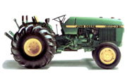 John Deere 2240 Orchard tractor photo