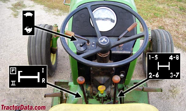 TractorData com John Deere 2640 tractor transmission information