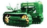 John Deere BO Lindeman tractor photo