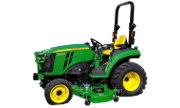John Deere 2038R tractor photo