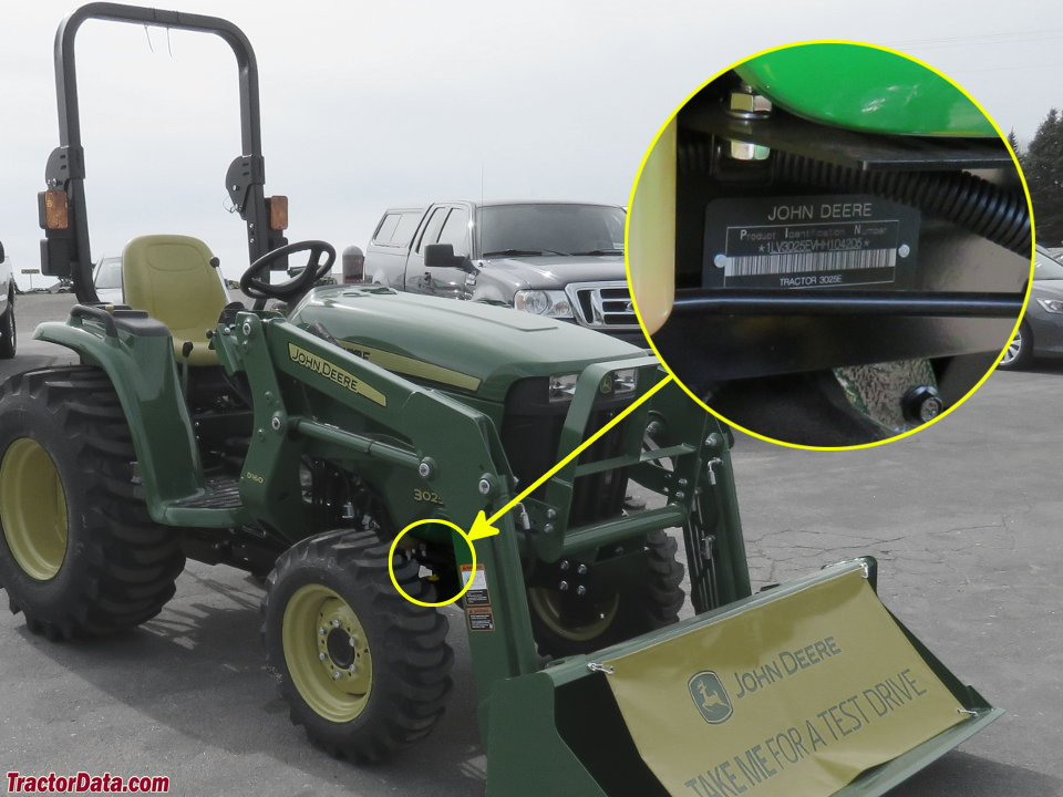 Tractordata John Deere 3025e Tractor Information. Photo Of 3025e Serial Number. John Deere. 3032e John Deere Pto Diagram At Scoala.co
