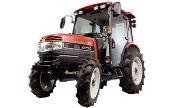 Mitsubishi GX50 tractor photo