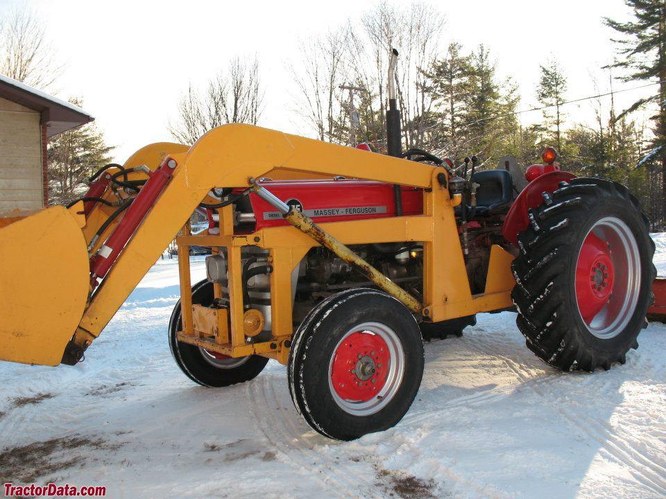 Massey Ferguson 135 With Loader : Tractordata massey ferguson tractor photos information