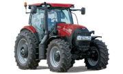 CaseIH Maxxum 145 tractor photo