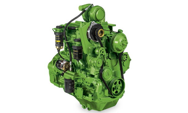 John Deere 5125R  engine photo