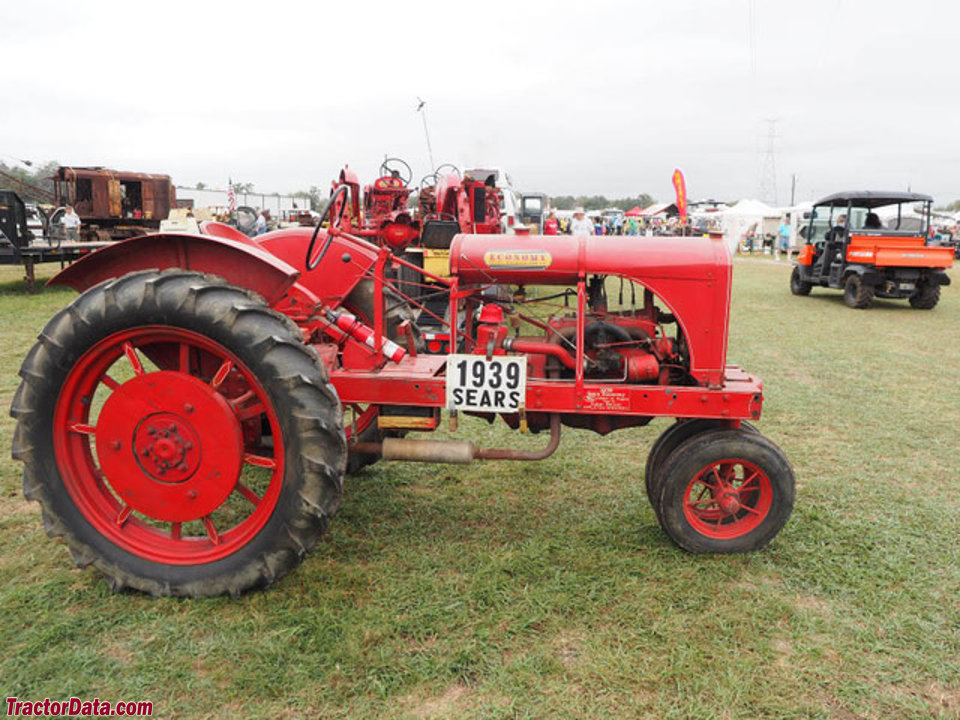 Farm Tractor Transmission : Tractordata sears new economy tractor photos information