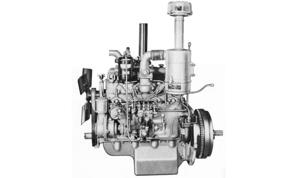 Cletrac AD  engine photo