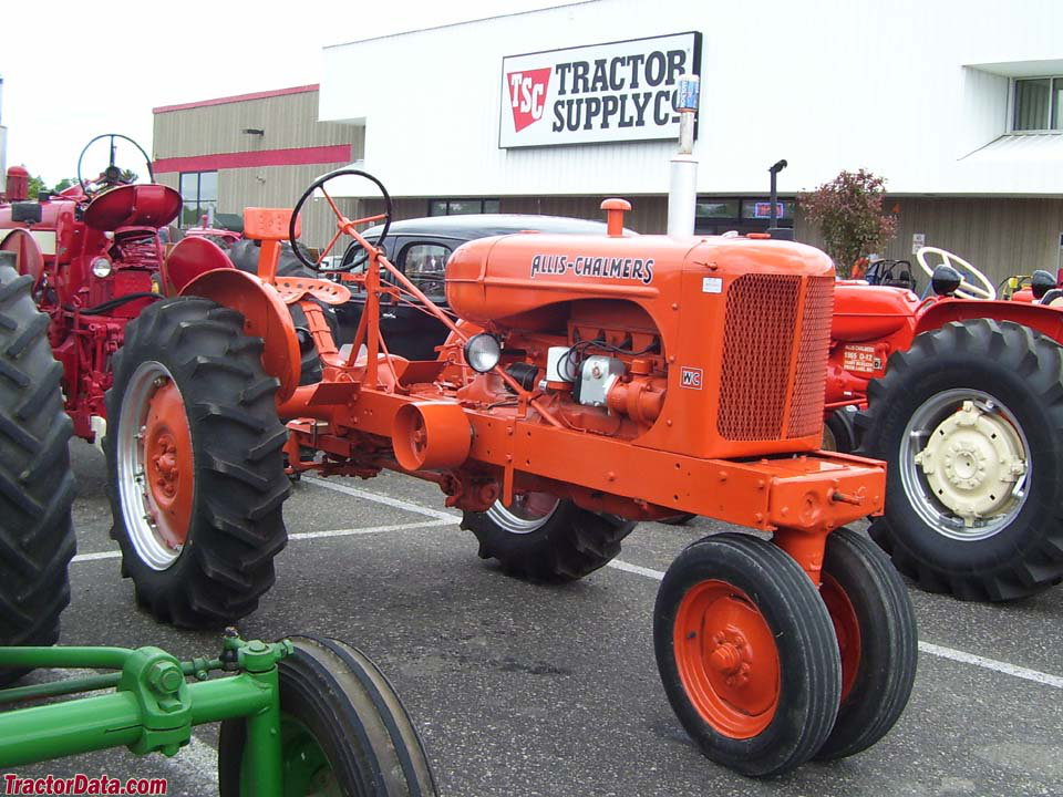 Styled Allis-Chalmers WC