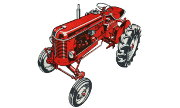 Massey Ferguson 821 tractor photo