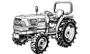 Kubota GL261 tractor photo