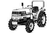 Kubota GL23 tractor photo