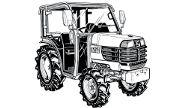 Kubota Bb260 tractor photo