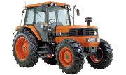 Kubota M125 tractor photo